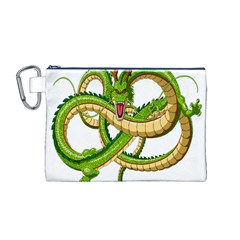 Dragon Snake Canvas Cosmetic Bag (m)