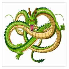 Dragon Snake Large Satin Scarf (square)