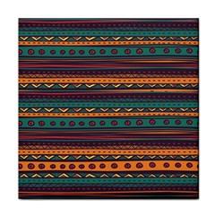 Ethnic Style Tribal Patterns Graphics Vector Tile Coasters