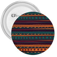 Ethnic Style Tribal Patterns Graphics Vector 3  Buttons