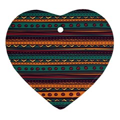 Ethnic Style Tribal Patterns Graphics Vector Ornament (heart)