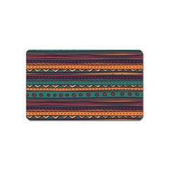 Ethnic Style Tribal Patterns Graphics Vector Magnet (name Card)