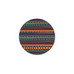 Ethnic Style Tribal Patterns Graphics Vector Golf Ball Marker (10 Pack)