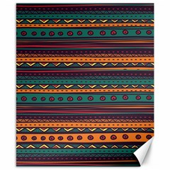 Ethnic Style Tribal Patterns Graphics Vector Canvas 8  X 10
