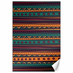 Ethnic Style Tribal Patterns Graphics Vector Canvas 12  X 18