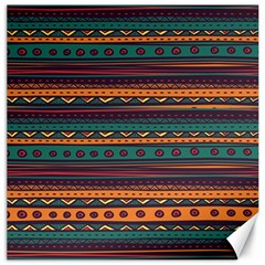 Ethnic Style Tribal Patterns Graphics Vector Canvas 20  X 20