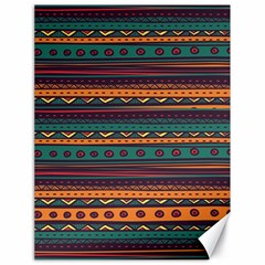 Ethnic Style Tribal Patterns Graphics Vector Canvas 18  X 24