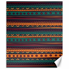 Ethnic Style Tribal Patterns Graphics Vector Canvas 20  x 24