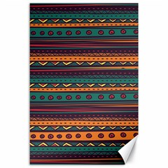 Ethnic Style Tribal Patterns Graphics Vector Canvas 24  X 36
