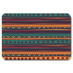 Ethnic Style Tribal Patterns Graphics Vector Large Doormat