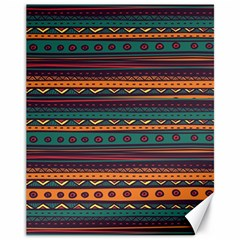 Ethnic Style Tribal Patterns Graphics Vector Canvas 11  X 14