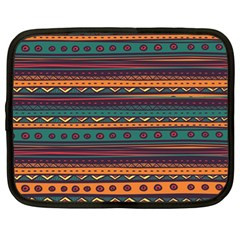 Ethnic Style Tribal Patterns Graphics Vector Netbook Case (Large)