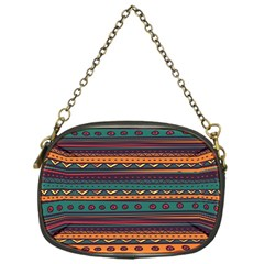Ethnic Style Tribal Patterns Graphics Vector Chain Purses (one Side)