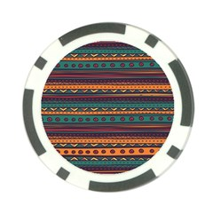 Ethnic Style Tribal Patterns Graphics Vector Poker Chip Card Guard (10 Pack)