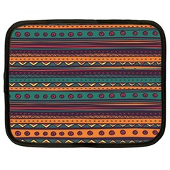 Ethnic Style Tribal Patterns Graphics Vector Netbook Case (XL)
