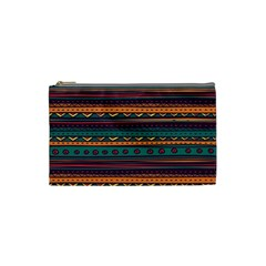 Ethnic Style Tribal Patterns Graphics Vector Cosmetic Bag (Small)
