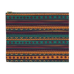 Ethnic Style Tribal Patterns Graphics Vector Cosmetic Bag (xl)