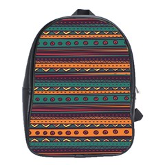 Ethnic Style Tribal Patterns Graphics Vector School Bags(large)