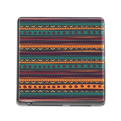 Ethnic Style Tribal Patterns Graphics Vector Memory Card Reader (square)