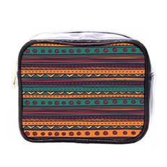 Ethnic Style Tribal Patterns Graphics Vector Mini Toiletries Bags