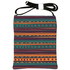 Ethnic Style Tribal Patterns Graphics Vector Shoulder Sling Bags