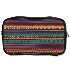 Ethnic Style Tribal Patterns Graphics Vector Toiletries Bags 2 Side
