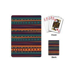 Ethnic Style Tribal Patterns Graphics Vector Playing Cards (mini)