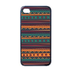 Ethnic Style Tribal Patterns Graphics Vector Apple Iphone 4 Case (black)