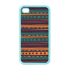 Ethnic Style Tribal Patterns Graphics Vector Apple Iphone 4 Case (color)