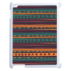 Ethnic Style Tribal Patterns Graphics Vector Apple Ipad 2 Case (white)