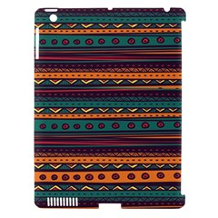 Ethnic Style Tribal Patterns Graphics Vector Apple Ipad 3/4 Hardshell Case (compatible With Smart Cover)