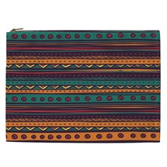 Ethnic Style Tribal Patterns Graphics Vector Cosmetic Bag (xxl)