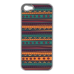 Ethnic Style Tribal Patterns Graphics Vector Apple Iphone 5 Case (silver)