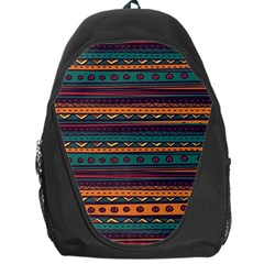 Ethnic Style Tribal Patterns Graphics Vector Backpack Bag