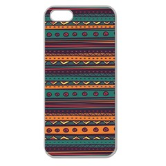 Ethnic Style Tribal Patterns Graphics Vector Apple Seamless Iphone 5 Case (clear)