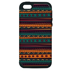 Ethnic Style Tribal Patterns Graphics Vector Apple Iphone 5 Hardshell Case (pc+silicone)
