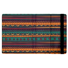 Ethnic Style Tribal Patterns Graphics Vector Apple Ipad 3/4 Flip Case