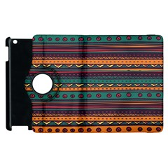 Ethnic Style Tribal Patterns Graphics Vector Apple Ipad 3/4 Flip 360 Case