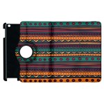 Ethnic Style Tribal Patterns Graphics Vector Apple iPad 3/4 Flip 360 Case Front