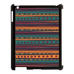 Ethnic Style Tribal Patterns Graphics Vector Apple Ipad 3/4 Case (black)
