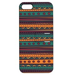 Ethnic Style Tribal Patterns Graphics Vector Apple Iphone 5 Hardshell Case With Stand