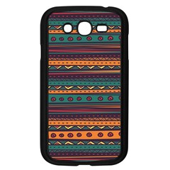 Ethnic Style Tribal Patterns Graphics Vector Samsung Galaxy Grand Duos I9082 Case (black)