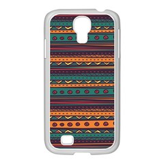 Ethnic Style Tribal Patterns Graphics Vector Samsung Galaxy S4 I9500/ I9505 Case (white)