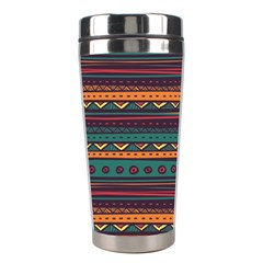 Ethnic Style Tribal Patterns Graphics Vector Stainless Steel Travel Tumblers