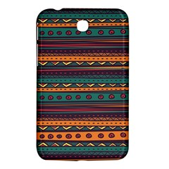 Ethnic Style Tribal Patterns Graphics Vector Samsung Galaxy Tab 3 (7 ) P3200 Hardshell Case