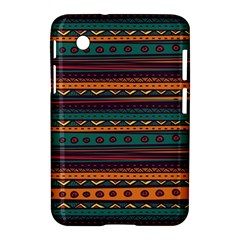 Ethnic Style Tribal Patterns Graphics Vector Samsung Galaxy Tab 2 (7 ) P3100 Hardshell Case