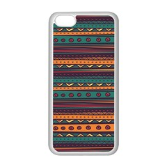 Ethnic Style Tribal Patterns Graphics Vector Apple Iphone 5c Seamless Case (white)