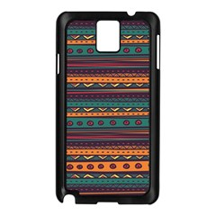 Ethnic Style Tribal Patterns Graphics Vector Samsung Galaxy Note 3 N9005 Case (black)