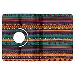 Ethnic Style Tribal Patterns Graphics Vector Kindle Fire Hdx Flip 360 Case