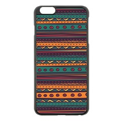 Ethnic Style Tribal Patterns Graphics Vector Apple Iphone 6 Plus/6s Plus Black Enamel Case